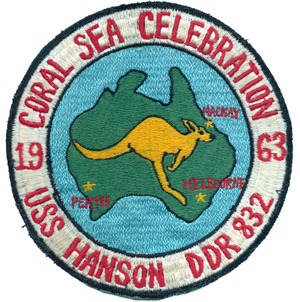Hanson Coral Sea Patch